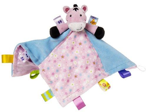 Taggies Character Blanket, Zoey Zebra front-766209