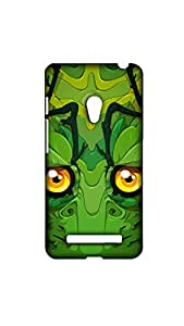 Green Dragon Face Stylish Mobile Case/Cover For Asus Zenfone 5