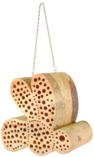 Esschert Design WA04 Bee-shaped Bee House