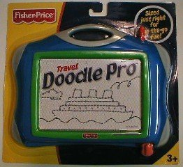 Travel Doodle Pro Blue (Fisher Price Magnetic Board compare prices)
