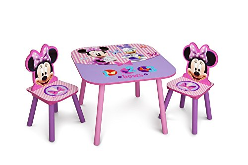 Delta Children Table & Chair Set, Disney Minnie Mouse JungleDealsBlog.com