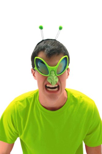Green Alien Costume Accessory Kit