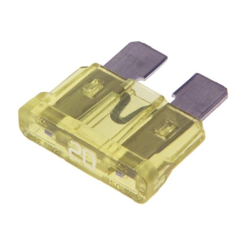 20 AMP STANDARD CAR BLADE FUSE PACK OF 50