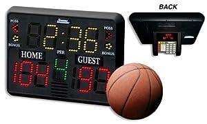Sportable Scoreboard Model LED-4 by Sportable Scoreboards