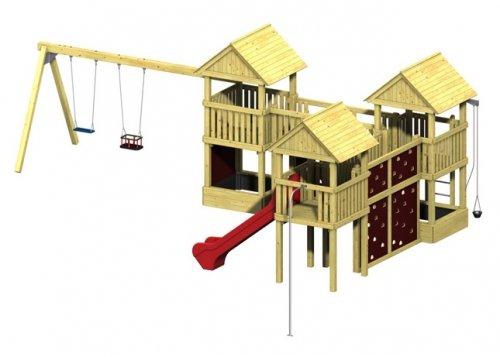 Spielturm Winnetoo Pro Variation 10 - öffentliche Spielanlagen