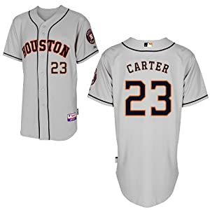 Chris Carter Houston Astros Road Authentic Cool Base Jersey by Majestic by Majestic