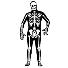 Green Man Factory Unisex Adult Skeleton Body Suit - Small