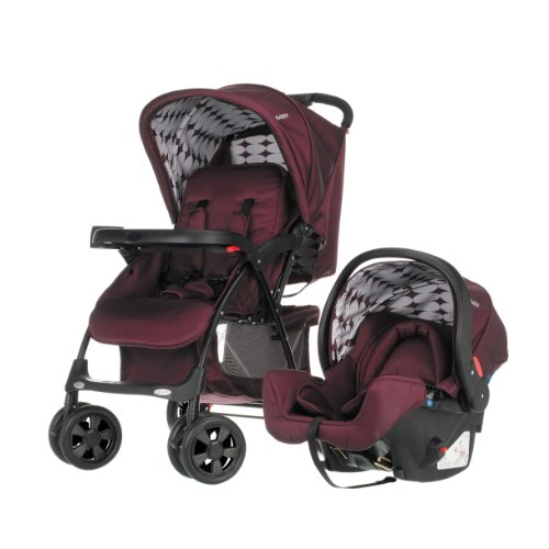 Obaby Monty Travel System (Berry)
