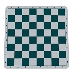 Ultimate Tournament Chess Board - Silicone with Green Squares