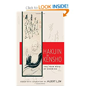 Amazon.com: Hakuin on Kensho: The Four Ways of Knowing ...