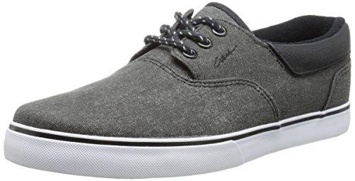 C1RCA Valeo SE Skate Shoe, Black/Gum, 10 M US