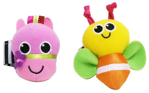 Sassy Horse And Bug Wrist Rattles front-916814