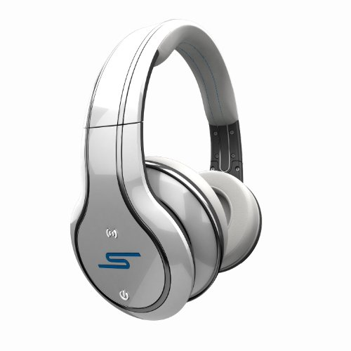 Sms Audio Sync By 50 Cent Over-Ear Wireless Headphones - White