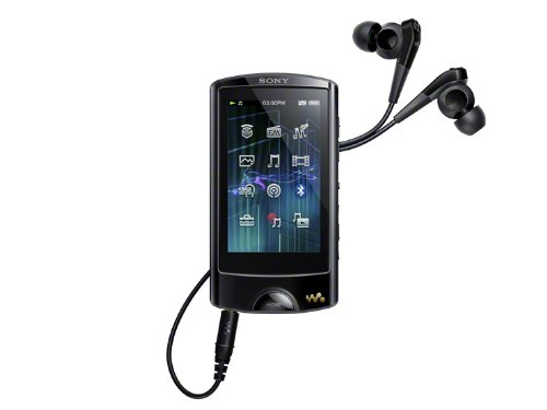 SONY Touch-Panel WALKMAN A-860 Series 64GB | NW-A867-B Black (Japan Model)