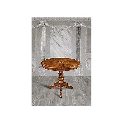 Table rond ciselé-comme photos