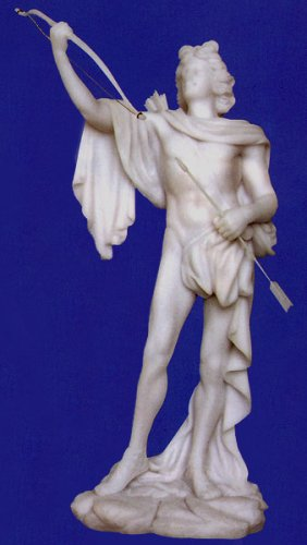 APOLLO Ancient Greek God of Light, Music, Medicine, Poetry, Prophecy & Archery Statue Sculpture