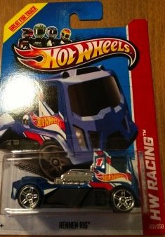 Hot Wheels Hw Racing Rennen Rig 102/250 2013