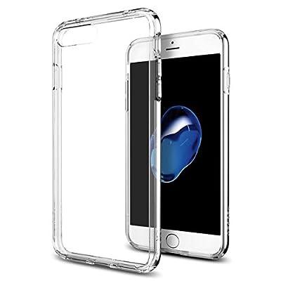 【Spigen】 iPhone 7 Plus ケース, ウルトラ・ハイブリッド [ 米軍MIL規格取得 落下 衝撃 吸収 ] アイフォン 7 プラス 用 カバー (iPhone7 Plus, クリスタル・クリア)