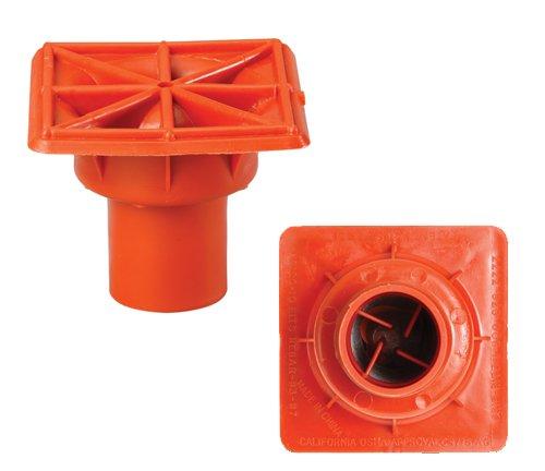 Protective Caps for Rebar Fence Posts - OSHA (#3 through #8 Rebar Size)