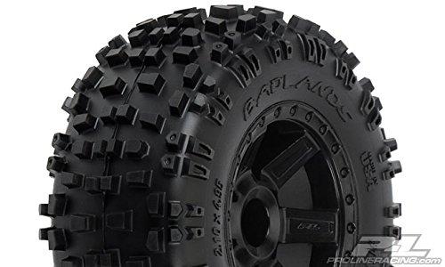 Proline-117312-Badlands-28-All-Terrain-Tire-Mounted-on-Desperado-Black-Wheels-Model-PRO117312-by-Proline