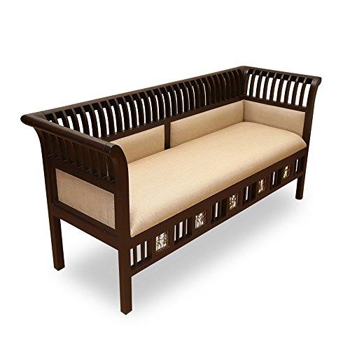teak living room furniture.  Living room Furniture For Home Previous Next ExclusiveLane Teak Wood 3 Seater Sofa With Dhokra Work Set