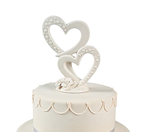 Fun Express Double Heart Cake Topper Party Pack