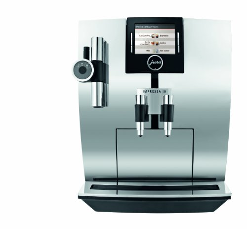 Jura Impressa J9 One Touch Tft Automatic Coffee Center, Chrome back-542188