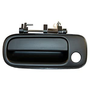 1992 1996 Toyota Camry Front Outside Outer Exterior Black Door Handle Left Driver