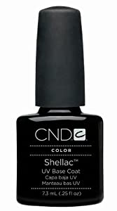 Creative Nail Shellac, UV Base Coat, 0.25 Fluid Ounce