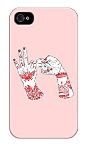 Dreambolic Fckn Printed Back Cover For Iphone 4S