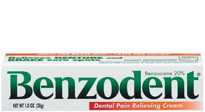 Benzodent Denture Adhesive Ointment - 1 Oz
