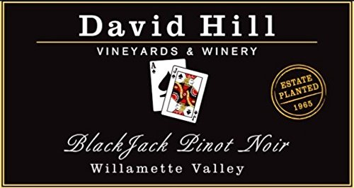 "2011 David Hill Vineyards ""Blackjack"" Estate Pinot Noir 750 Ml"
