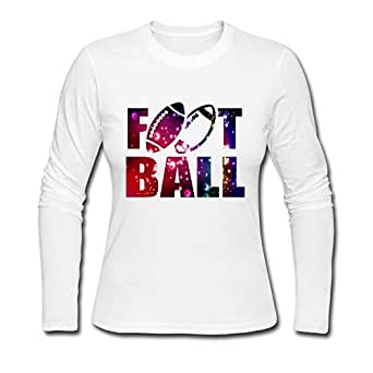 Onlyprint Women 39 S Cool American Football Punk Long Sleeve