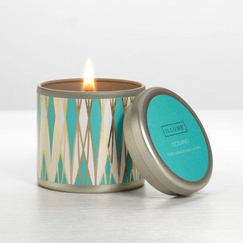 イリューム(ILLUME) ミニ ティン キャンドル(Mini Tin Candle) オシアーノ(Oceano)