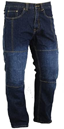 Mens DuPont Kevlar Jeans Motorbike Protection Trousers All sizes