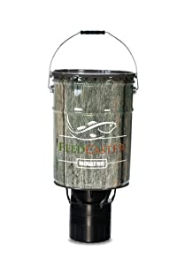 Moultrie 6 5 gallon automatic pond fish for Moultrie fish feeder
