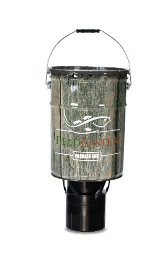 Moultrie 6 5 gallon automatic pond fish feeder for Fish feeders for ponds