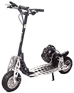 The FASTEST Gas Scooter Model XG-575-DS A-Blaze Signature Series 2 Speed Black
