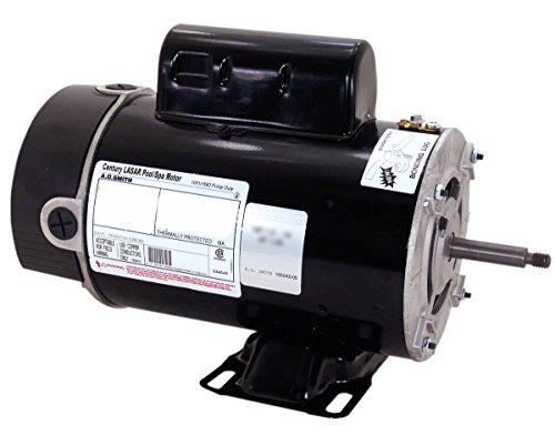 1 Hp 3450/1725 Rpm 48Y Frame 115V 2-Speed Pool & Spa Electric Motor Ao Smith # Bn37V1