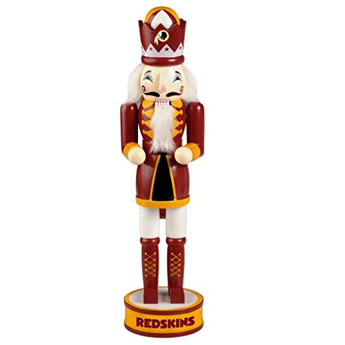 Washington Redskins Official NFL 14 inch 14″ Christmas Holiday Nutcracker