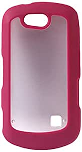 Reiko PP-ZTEX501HPK Sleek and Durable Protective TPU Case for ZTE Groove X501 - 1 Pack - Retail Packaging - Hot Pink