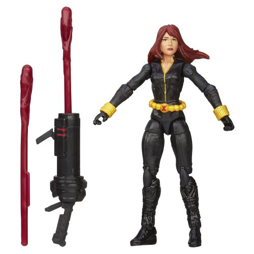 Marvel Avengers Assemble Inferno Cannon Black Widow Figure (Black Widow Action Figure 12 Inch compare prices)