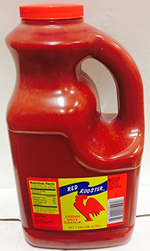 Red Rooster Louisiana Hot Sauce in Plastic Gallon Jug (Gallon Red Hot Sauce compare prices)