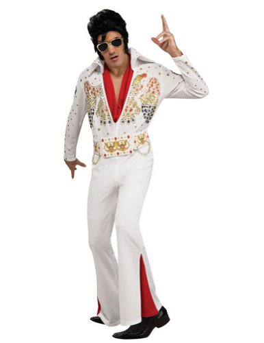 Elvis Deluxe Sm Halloween Costume - Adult Small