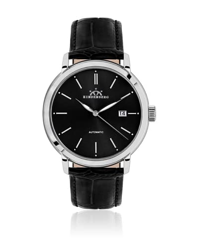 Hindenberg Reloj automático Man 380-H Ascender Negro 42 mm
