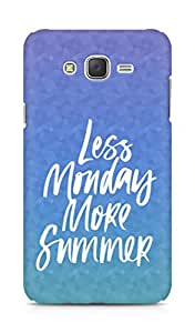 AMEZ less monday more summer Back Cover For Samsung Galaxy J7