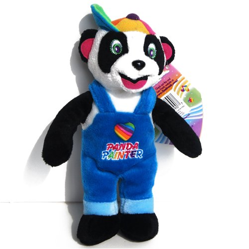 Painter Panda Bear - Lisa Frank Beany Plush