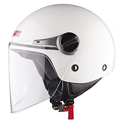 CASQUE LS2 HELMETS WUBY KID - OF 575 - L - Blanc - Blanc