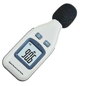 Sonomètre / Décibelmètre Compact Portable Ecran LCD - Outil pour mesurer le niveau de nuisance sonore de votre environnement