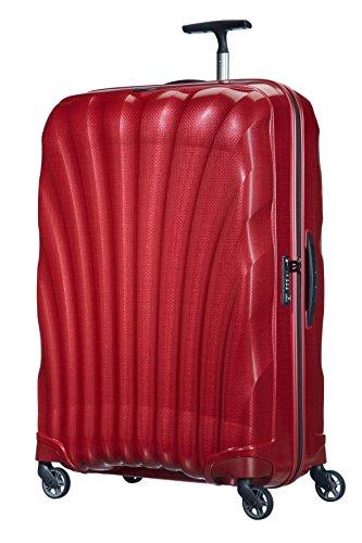 Samsonite Cosmolite Spinner 81/30 FL2 Valigia, Curve, RED, 81 cm